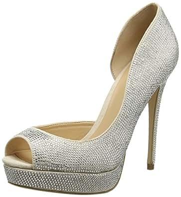 Aldo Women's Lilacia Platform Heels, Off White (Bone / 32), 4 UK