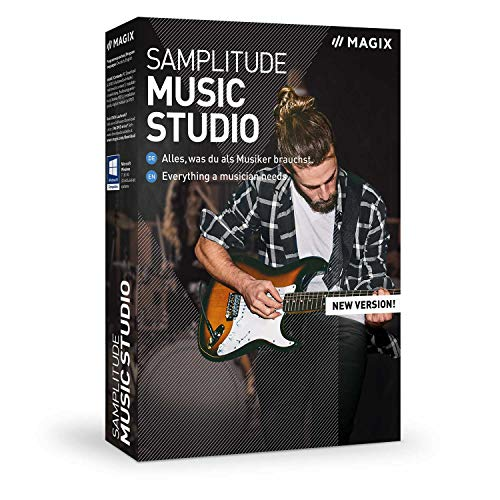 Samplitude Music Studio - Version 2020 - Alles, was du als Musiker brauchst.|Standard|Mehrere|Limitless|PC|Disc|Disc