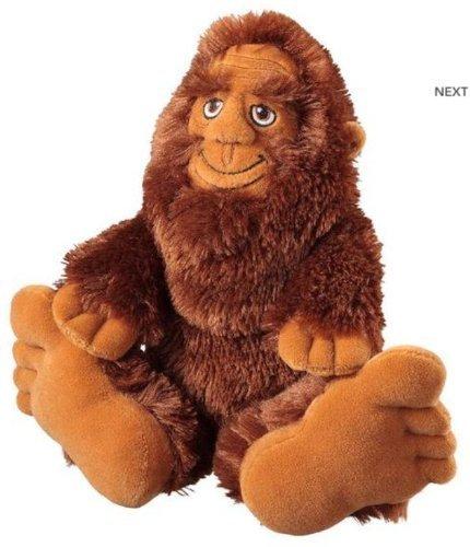 10 Bigfoot Sasquatch Plush Stuffed Toy by SAH (Bigfoot-plüsch-spielzeug)
