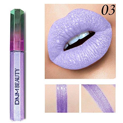 Wasserdicht Matte Liquid Lipstick Schönheit Lippe Gloss,IMJONO 12 Farben Nude Metallic Matte Velvet...