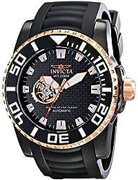 Invicta 14686 - Reloj analógico automático para Hombre, Correa de Goma Color ...