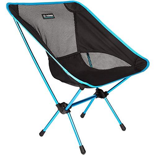 Helinox Chair One L,Campingstuhl,Faltstuhl,Aluminium,leicht,stabil,faltbar,inkl Tragetasche,Black,one Size