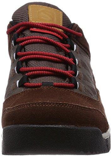 Salomon  Instinct Travel GTX, Chaussures de trekking et randonnée homme Marron - Marron foncé