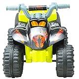 Homcom® Kinderauto Kinderwagen Elektroauto Kinderfahrzeug Kindermotorrad Quad Elektroquad Kinderquad Elektromotorrad (Elektroquad/gelb-schwarz) - 3