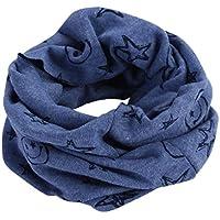 Bluestercool Otoño invierno bebé pañuelos Niños Niñas collar del bebé bufanda de algodón Cuello redondo Bufandas