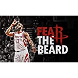 James Harden Poster On Silk <58cm x 35cm, 23inch x 14inch> - Cartel de Seda - 1BD5AF