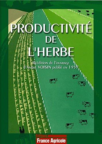 Productivité de l'herbe
