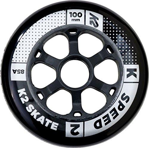 K2 Rollenset 100 mm Speed Wheel 4-Pack, Mehrfarbig, One Size, 30B3006.1.1.1SIZ