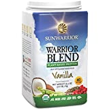 Sun Warrior, Protéine Brute à base de plantes, Warrior Blend, Vanille, 35.2 oz (1 kg)
