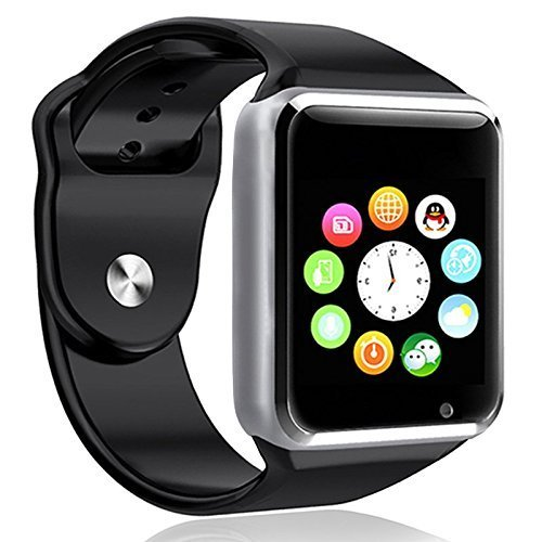 Samsung Galaxy S Duos (GT-S7562) Apple Smart Watch (42 mm) Compatible Bluetooth Smart Watch GT08 Wrist Watch Phone with Camera & SIM Card Support Hot Fashion New Arrival Best Selling Premium Quality Lowest Price with Apps Touch Screen, Multi Language with Android Ios mobile tablet iphoneBLACK BY JOKIN  available at amazon for Rs.1599