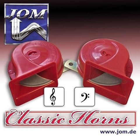 JOM 127026 Fanfare, Signalhorn, Hupe, 12V 110 ± 5 dB,