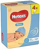 Huggies Pure feuchte Tücher, 2er Pack (2 x 256 Tücher)