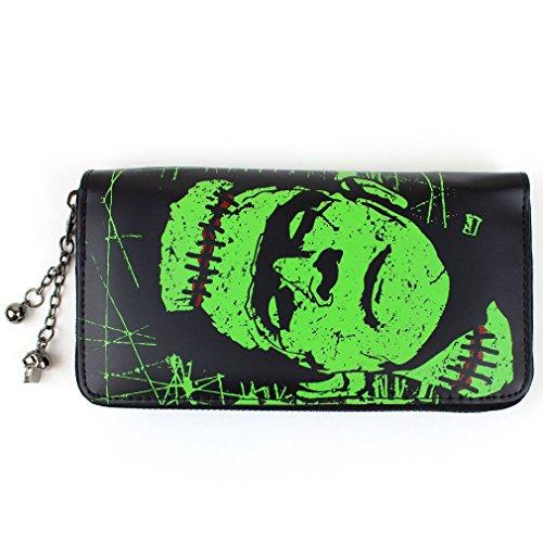 Banned Damen XL Geldbörse - Frankenstein Portemonnaie