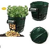 Asoon de pommes de terre Sac de plantation 7Gallon Légumes Grow Sacs 2-pack