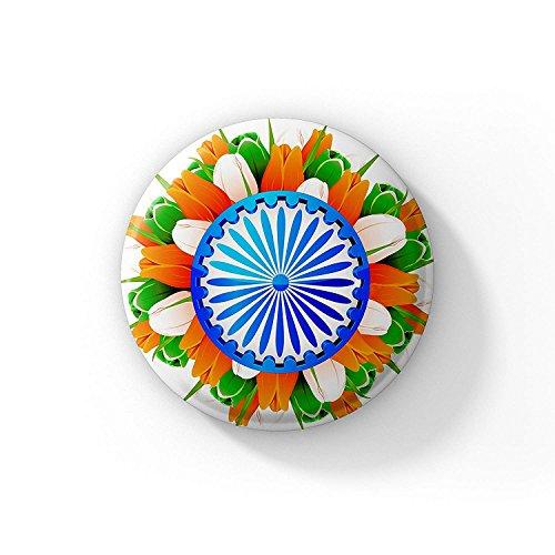 LASTWAVE Indian Flag Badge | DD2 | India Flag Independence Day Badge