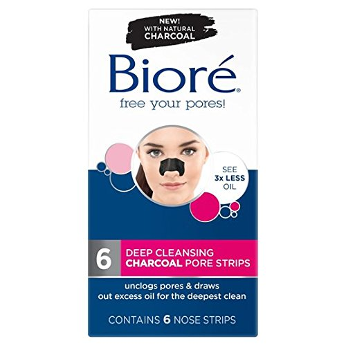 biore-charcoal-pore-strips-6-par-paquet