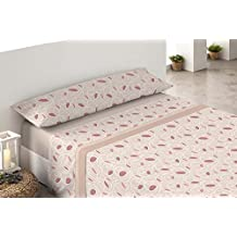 Cisne Rojo Elsa - Juego de sábanas polares para cama de 105 cm