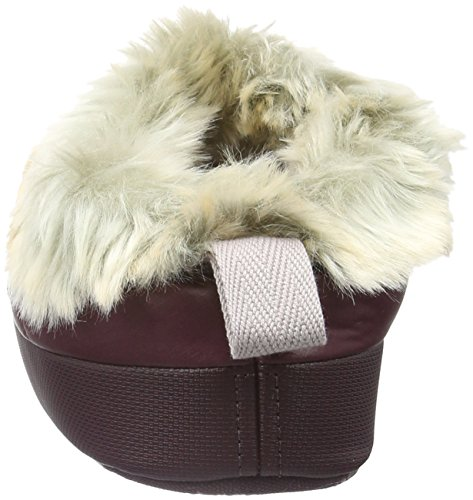 The North Face W Nse Tent Mule Faux Fur Ii, Sabots femme Mehrfarbig (Shdpgrtrd/Cldgy Nlp)