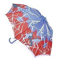 Marvel Comics Childrens Spiderman Umbrella with Crook Handle
