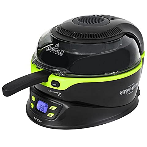 Multifunctional Air Fryer. 4D System, Automatic Paddle, Marble Coating. 8 Preset Programmes, 100-240 ºC, Time from 5 to 90 Minutes. 3 litres of capacity. Includes Recipe