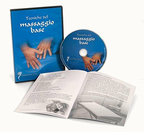Tecniche del massaggio base - video corso in dvd