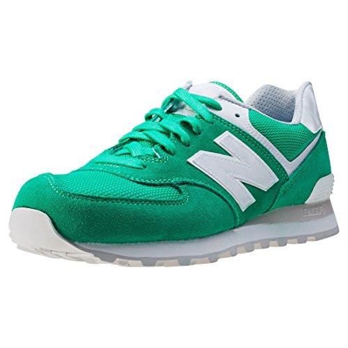 New Balance ML574-SEG-D Sneaker Herren gr眉n / wei