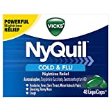 Vicks NyQuil Cough Cold and Flu Nighttim...