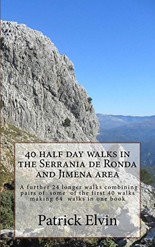 Descargar gratis 40 Half day walks in the Serrania de Ronda and Jimena area (Walking in Southern Spain Book 2) Epub