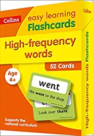 High Frequency Words Flashcards: Prepare for School with Easy Home Learning