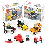 Baker Ross Building Brick (Pack Of 4) Speed Racer Building Kit