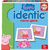 Educa Borrás Peppa Pig - Identic, Juego de Mesa 16227