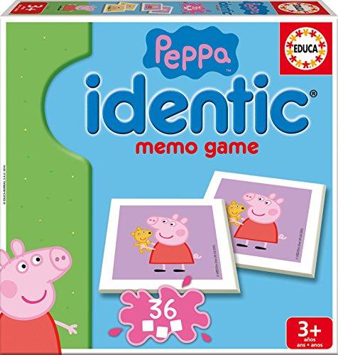 Peppa Pig - Identic, juego de mesa (Educa Borrás 16227)