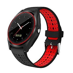 Hanbaili Smartwatch Reloj Inteligente con Ranura de Tarjeta SIM/TF y Cámara,