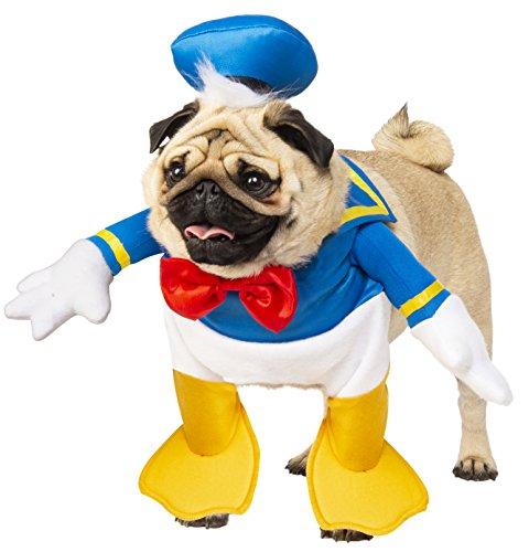 (Rubie 's Disney: Mickey Mouse & Friends Pet Kostüm, Donald Duck, X-Large)