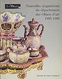 Nouvelles acquisitions du Département des objets d'art, Musée du Louvre Tome 1 - 1980-1984