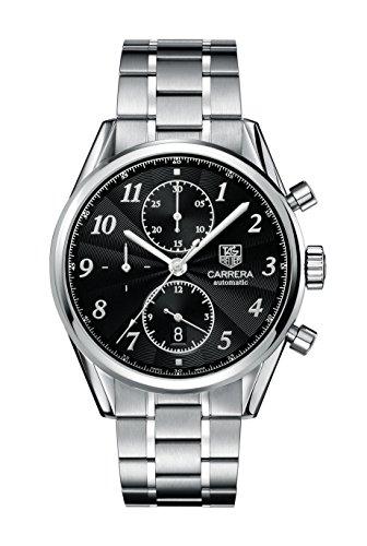 TAG Heuer Herren-Armbanduhr Chronograph Automatik Edelstahl CAS2110.BA0730