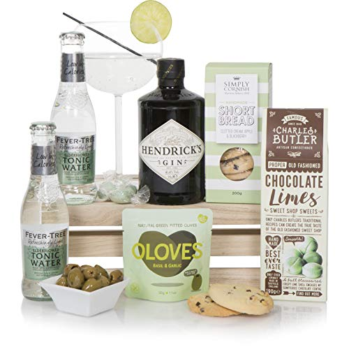 Luxury Gin Hamper - Gin Hampers and Gift Baskets - Gin Gift Ideas For Birthday or Thank You!