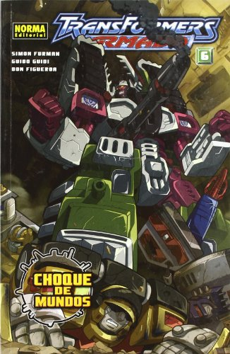 Transformers Armada 06  Furman Guidi Y F (CÓMIC USA) por Simon Furman