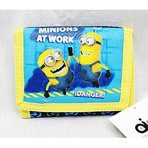Trifold Wallet - Despicable Me - Minions At Work Anime Boys New dl21182 by Accessory Innovation - Tri Fold Zaino