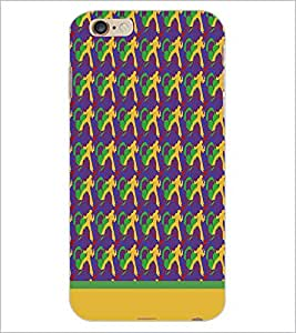 PrintDhaba Music pattern D-1912 Back Case Cover for APPLE IPHONE 6S PLUS (Multi-Coloured)