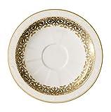 Villeroy & Boch Golden Oasis Untertasse Tasse Espresso, Porzellan Bone China, mehrfarbig