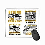 Mouse Pad car Adventure Quote Saying Best Clothing Mug Pillow Poster Other Best Set car Quote Best Rectangle Rubber Mousepad 11.81 X 9.84 Inch