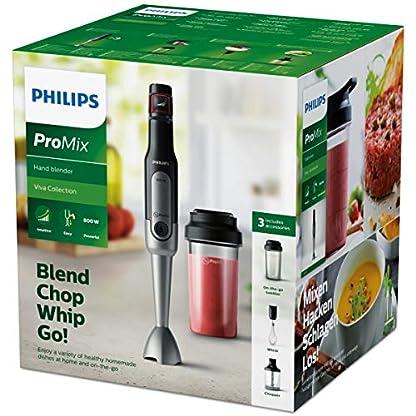 Philips-HR265290-Stabmixer-800-W-Kunststoff-Gummi-Edelstahl-Schwarz