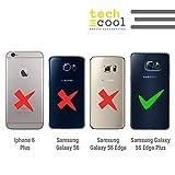 Samsung Galaxy S6 Edge Plus Coque FunnyTech® Housse Premium Souple TPU Silicone pour Samsung Galaxy S6 Edge Plus l [Design Exclusif, Impression Haute Définition] [Couleurs Très Vives] [Ultra Mince 1,5mm] [Antichoc] [Coque Souple] [Justin Bieber