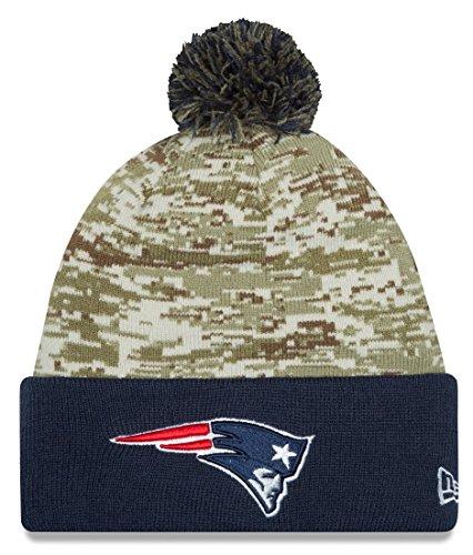 New England Patriots New Era 2015 NFL Sideline Salute to Service Sport Knit Hat Hut