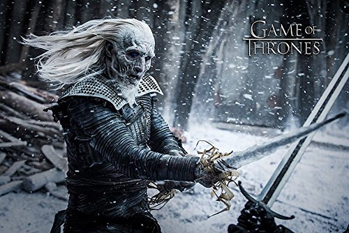 empireposter 739964 Game of Thrones - White Walker - Fantasy Film Movie Poster - dimensioni 91,5 x 61 cm, carta, multicolore, 91,5 x 61 x 0,14 cm