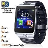inDigi Swap 2 in 1 Gear Smartwatch & Phone + Bluetooth Sync +
