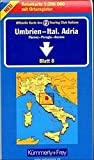 Kümmerly & Frey Karten, Umbrien, Italienische Adria (Kümmerly+Frey Strassenkarten, Band 8) - Kummerly