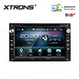 Xtrons 17,8 cm Android 6.0 HD digitale multi-touch stereo radio lettore DVD auto 16 G ROM GPS WiFi Bluetooth mirroring OBD DVR per VW Golf Seat Skoda