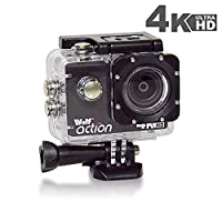 Wolf Action 4K Waterproof Action Sports Ultra HD Camera Cam DV Camcorder plus Free Mounting Accessories Kit